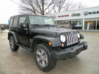 Used 2016 Jeep Wrangler for sale in Owen Sound, ON