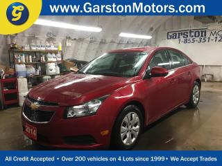 Used 2014 Chevrolet Cruze LT*TURBO*PHONE CONNECT*KEYLESS ENTRY w/REMOTE START*POWER WINDOWS/LOCKS/MIRRORS*CLIMATE CONTROL*TRACTION CONTROL*CRUISE CONTROL* for sale in Cambridge, ON
