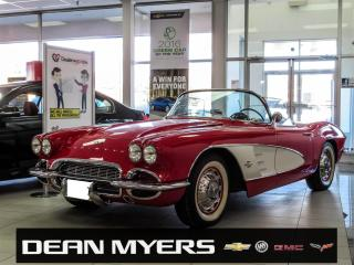 Used 1961 Chevrolet Corvette for sale in North York, ON