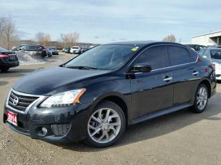Used 2014 Nissan Sentra SR w/NAV,rear cam,heated seats,power sunroof for sale in Cambridge, ON