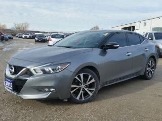 Used 2016 Nissan Maxima Platinum FWD  w/all leather,NAV,panoramic roof,rear cam,heated-cooled seats,adaptive cruise for sale in Cambridge, ON