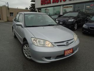 Used 2004 Honda Civic PL,PM,PW SAFETY E TEST INC for sale in Oakville, ON