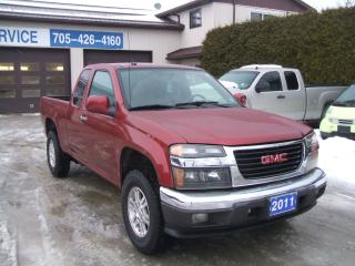 Used 2011 GMC Canyon SLE , 4X4 for sale in Beaverton, ON