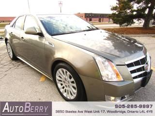 Used 2010 Cadillac CTS CTS4 - AWD - 3.0L for sale in Woodbridge, ON