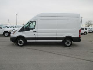 Used 2017 Ford TRANSIT-250 148 INCH W/BASE.HIGH ROOF. for sale in London, ON