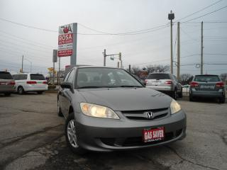 Used 2004 Honda Civic AUTO LOW KM NO RUST 4DR for sale in Oakville, ON