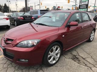 Used 2008 Mazda MAZDA3 GT l Alloys l Sunroof l Heated Seats for sale in Waterloo, ON