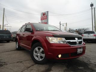 Used 2010 Dodge Journey AUTO LOW KM 1OWNER 4 CYLINDER GAS SAVER for sale in Oakville, ON