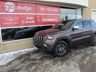 Used 2018 Jeep Grand Cherokee Limited 4x4 / Sunroof / Back Up Camera for sale in Edmonton, AB
