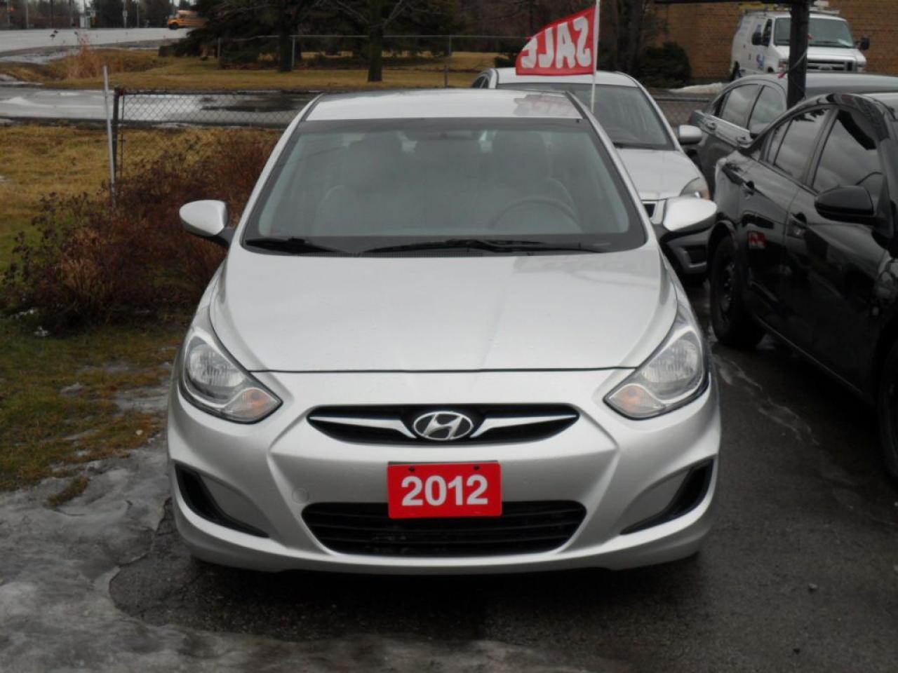 Photo of Silver 2012 Hyundai Accent