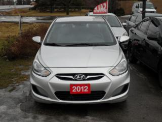 Used 2012 Hyundai Accent for sale in Brampton, ON