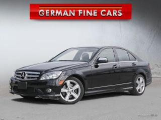 Used 2009 Mercedes-Benz C 300 C300 AMG SPORT PKG *** 103,000KM for sale in Caledon, ON