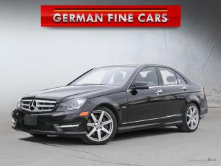 Used 2012 Mercedes-Benz C350 C350 AMG SPORT PKG*** Navigation Panoramic for sale in Caledon, ON