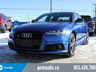 Used 2017 Audi S6 RED LUST LEATHER, 1 OWNER LEASE BACK,LOW MILEAGE for sale in Edmonton, AB
