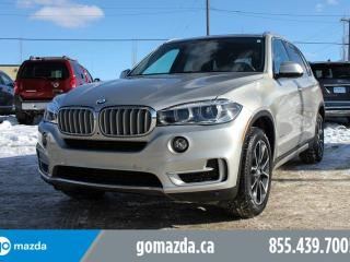 Used 2015 BMW X5 PREMIUM NAV ACCIDENT FREE ONE OWNER for sale in Edmonton, AB