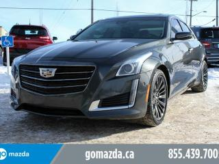 Used 2015 Cadillac CTS PERFORMANCE AWD NAV PANO ROOF for sale in Edmonton, AB