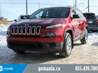 Used 2015 Jeep Cherokee SPORT AWD BACK UP CAMERA for sale in Edmonton, AB
