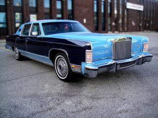 Used 1977 Lincoln Continental TOWN CAR-EVERY OPTION,SUPER CLEAN,VERY LOW KM for sale in North York, ON
