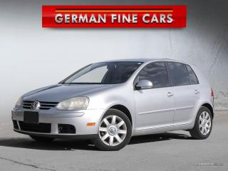 Used 2007 Volkswagen Rabbit RABBIT 2.5L Hatchback ***Sun Roof***ONLY 132,000KM for sale in Caledon, ON