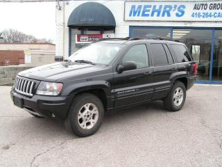 Used 2004 Jeep Grand Cherokee Laredo Loaded Leather Sunroof Power/Heated seat for sale in Scarborough, ON