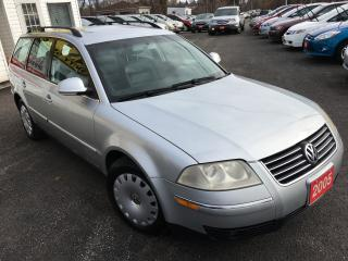 Used 2005 Volkswagen Passat GLS / Auto / Leather / 4-Cylinder / Like NEW! for sale in Scarborough, ON