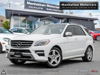 Used 2014 Mercedes-Benz ML 350 ML 350 BlueTEC AMG |NAV|CAM|BLINDSPOT|WARRANTY for sale in Scarborough, ON