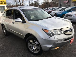 Used 2008 Acura MDX Tech pkg / Navi / Backup Camera / Leather for sale in Scarborough, ON