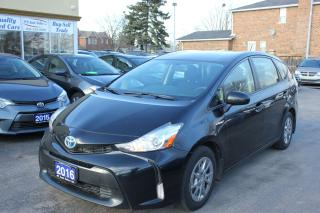 Used 2016 Toyota Prius v Five Hybrid Bakcup Cam Bluetooth for sale in Brampton, ON
