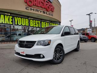 Used 2017 Dodge Grand Caravan SXT BLACKTOP PKG DVD REAR CAM FOG LIGHTS for sale in Scarborough, ON