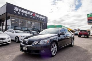 Used 2008 Lexus GS 450H HYBRID HYBRID l BACKUP CAM l NAVI l BLUETOOTH for sale in Markham, ON