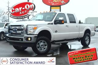 Used 2016 Ford F-250 Lariat SUPERDUTY DIESEL 4X4 LEATHER NAV SUNROOF for sale in Ottawa, ON