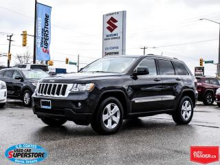 Used 2011 Jeep Grand Cherokee Laredo 4x4 ~Nav ~Backup Cam ~Heated Leather for sale in Barrie, ON