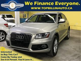 Used 2014 Audi Q5 3.0 V6 with Navigation, Clean Carproof for sale in Concord, ON