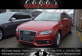 Used 2010 Audi A4 2.0T (Tiptronic) for sale in Etobicoke, ON