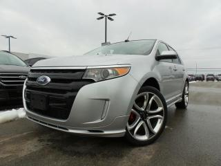 Used 2013 Ford Edge *CPO* SPORT 3.7L 6CYL 1.9% APR FREE WARRANTY for sale in Midland, ON