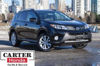 Used 2014 Toyota RAV4 Limited, No Accidents, Low KMS, Navigation, AWD for sale in Vancouver, BC