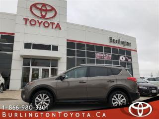 Used 2015 Toyota RAV4 LIMITED  for sale in Burlington, ON