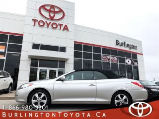 Used 2004 Toyota Camry Solara SLE Convertible for sale in Burlington, ON