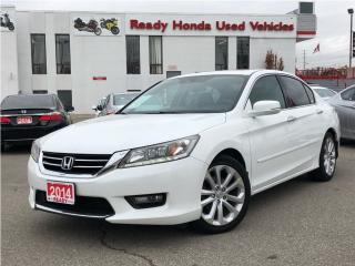Used 2014 Honda Accord Sedan Touring - Navigation - Leather for sale in Mississauga, ON