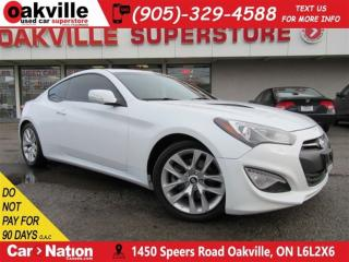 Used 2014 Hyundai Genesis Coupe 2.0T | 6 SPEED M/T+LEATHER+SUNROOF+NAV+B/U CAM for sale in Oakville, ON