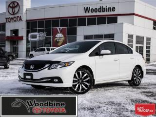 Used 2014 Honda Civic Touring Navigation! Sunroof! 7 Touch Screen for sale in Etobicoke, ON