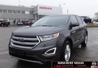 Used 2016 Ford Edge SEL - AWD |Navigation|Backup Camera|AWD|Rear Parki for sale in Scarborough, ON