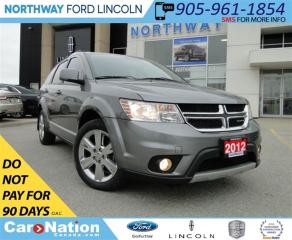 Used 2012 Dodge Journey SXT & Crew | NAV | REMOTE START | SUN ROOF | for sale in Brantford, ON