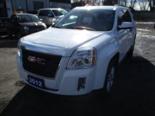 Used 2012 GMC Terrain LOADED SLT-1 MODEL 5 PASSENGER 2.4L - ECO-TEC .. LEATHER.. HEATED SEATS.. BACK-UP CAMERA.. REMOTE START.. POWER LIFTGATE.. for sale in Bradford, ON
