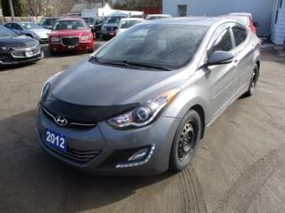 Used 2012 Hyundai Elantra LOADED M16 GDi LIMITED MODEL 5 PASSENGER 1.8L - DOHC.. ACTIVE-ECO.. LEATHER.. HEATED SEATS.. SUNROOF.. for sale in Bradford, ON