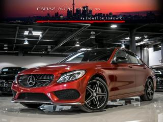 Used 2016 Mercedes-Benz C-Class C400 AMG|BURMESTER|BLINDSPOT|NAVI|LED|REAR CAM|LOADED for sale in North York, ON