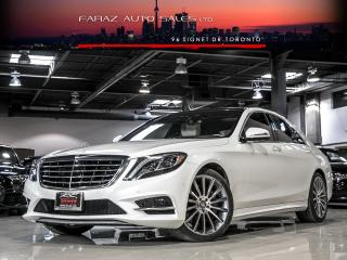 Used 2015 Mercedes-Benz S550 AMG|LWB|DESIGNO|CHAUFFEUR PKG|HEADSUP|BURMESTER|DTR+|BLINDSPOT|LOADED for sale in North York, ON