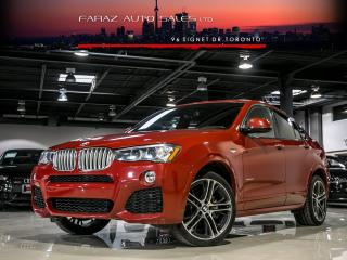 Used 2016 BMW X4 M-SPORT|3.5i|HEADS-UP|NAVI|REAR CAM|LOADED for sale in North York, ON