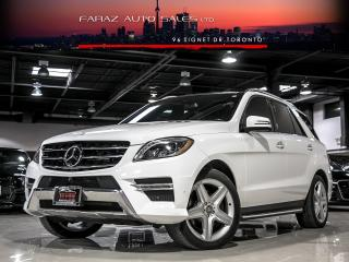Used 2015 Mercedes-Benz ML 350 AMG|DISTRONIC|NAVI|BLINDSPOT|360 CAM|BLUETEC|LOADED for sale in North York, ON