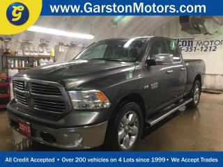 Used 2015 Dodge Ram 1500 BIGHORN*QUADCAB*4X4*HEMI*NAVIGATION*8.4-inch touchscreen*U CONNECT PHONE*BACK UP CAMERA*KEYLESS ENTRY*SIDE STEPS*CLIMATE CONTROL*POWER WINDOWS/LOCKS/H for sale in Cambridge, ON